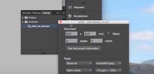 Плъгинът arifiQ позволява на дизайнерите да изпращат запитвания и заявки директно от InDesign