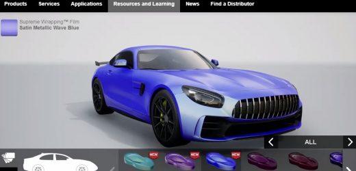 Avery Dennison пусна нов визуализатор за брандиране на автомобили