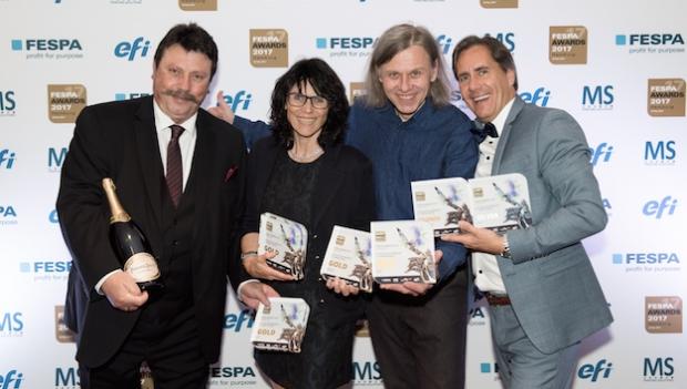 Fespa Awards 2017 награди най-добрите печатни продукти