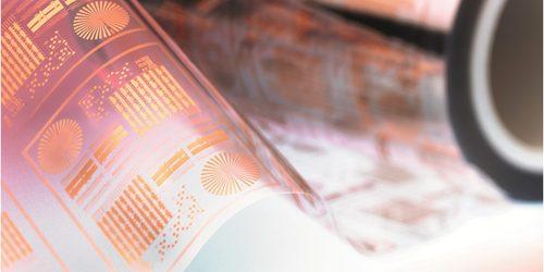 Прозрачен и проводим филм помага за печат на електронни компоненти