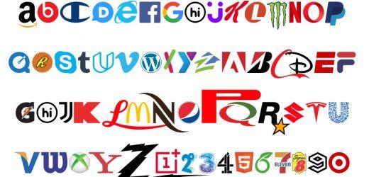 Нов шрифт съставен изцяло от фирмени лога