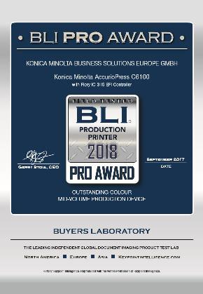 Canon с две награди BLI Pro Award 2018