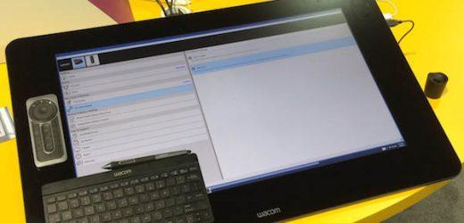 Дисплей-таблетът Cintiq 27QHD – флагманът на WACOM