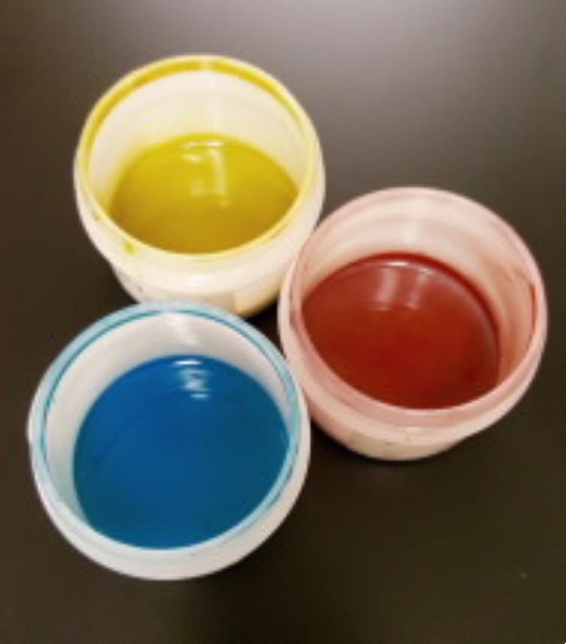 Цветни проводими мастила и покрития