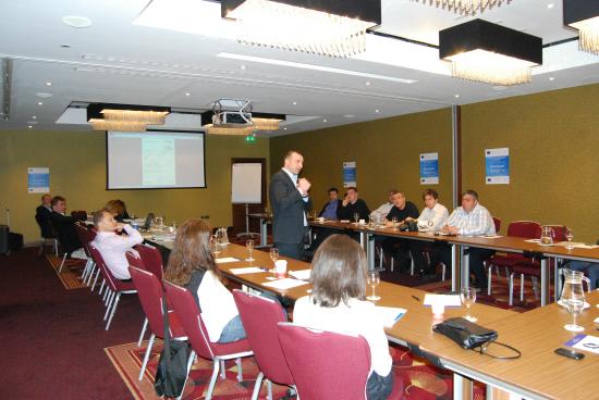 Пресконференция за управление на документооборота, организирана от Commquest
