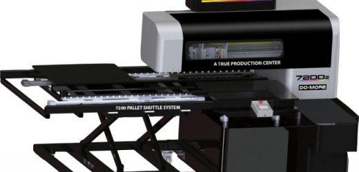 Високопроизводителен UV LED принтер за директен печат върху сувенири DCS 7200z