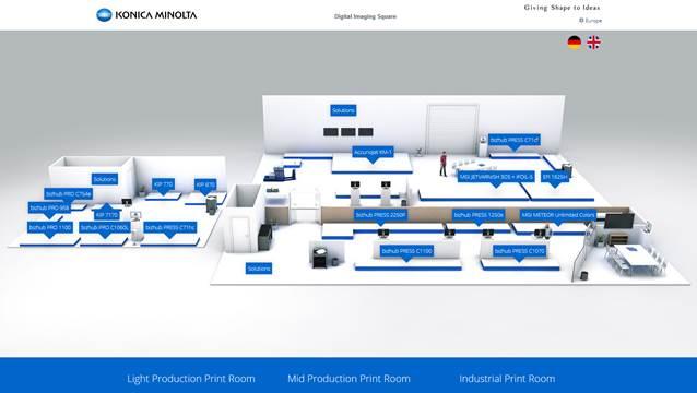 Konica Minolta отваря нов шоурум в централата си в Европа