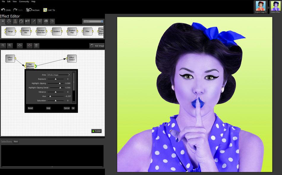 Обработка на растерни изображения със Smart Photo Editor