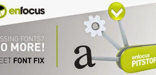 Enfocus решава предизвикателството с липсващите шрифтове с PitStop Font Fix