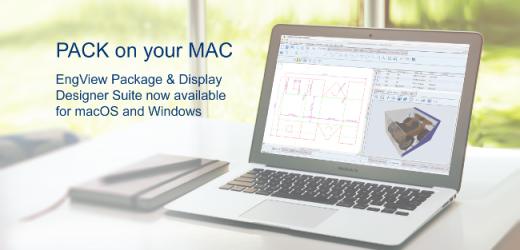 ЕнгВю Системс пусна първата по рода си macOS система за структурен дизайн на опаковки и дисплеи