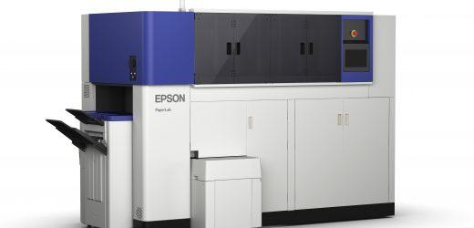 Epson представи прототип на офис машина за рециклиране на хартия