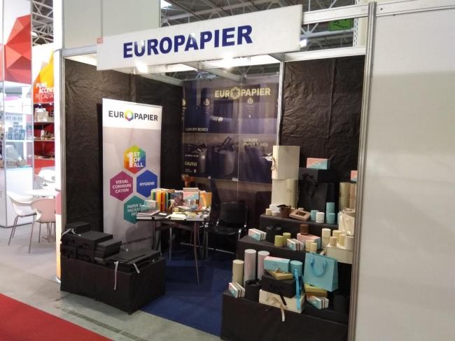 Европапир и Лукспак на Pack Expo, Букурещ