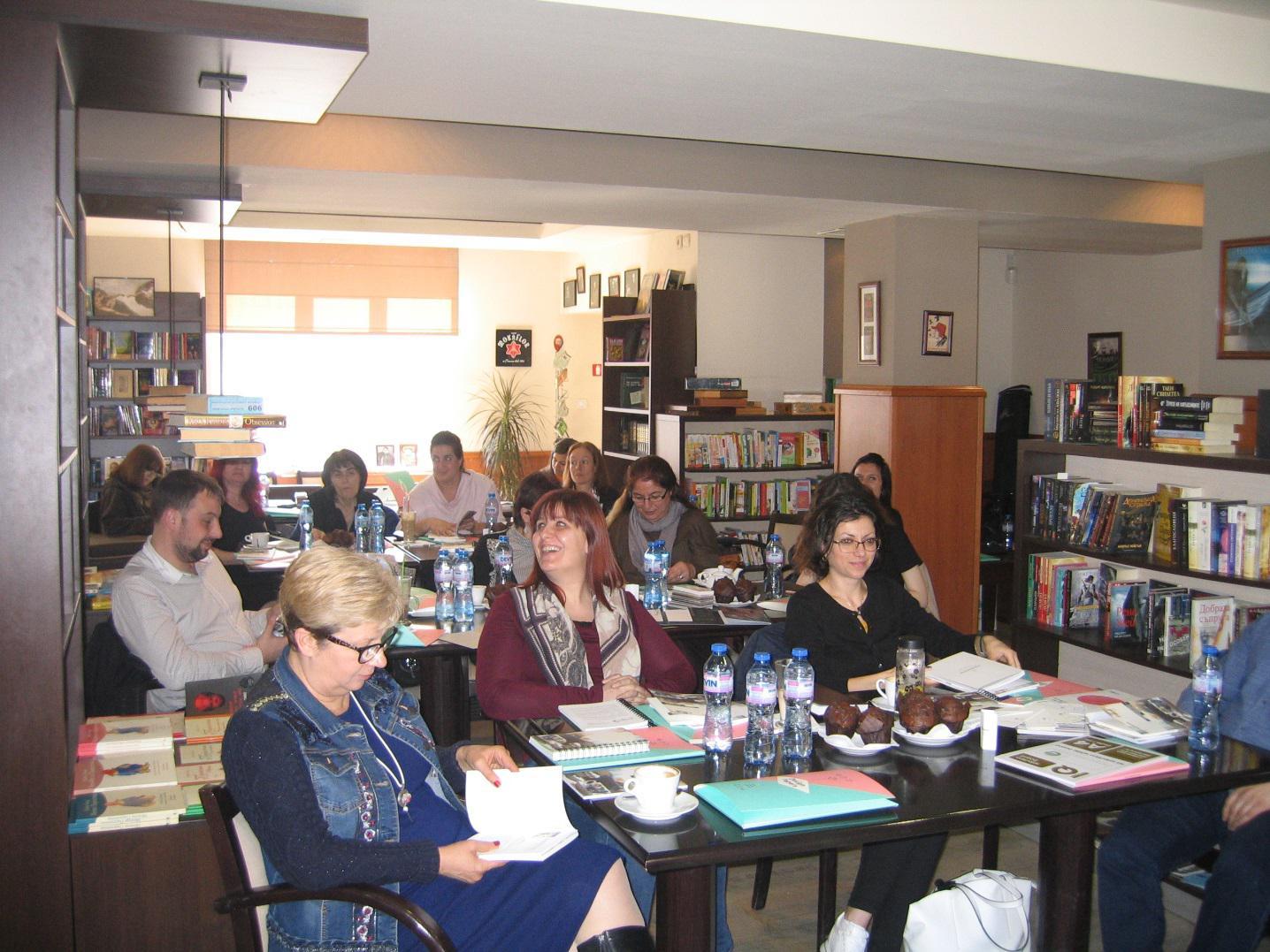 Литературно четене с Европапир България и Монди