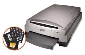 Висококачествен професионален скенер за снимки и филми.