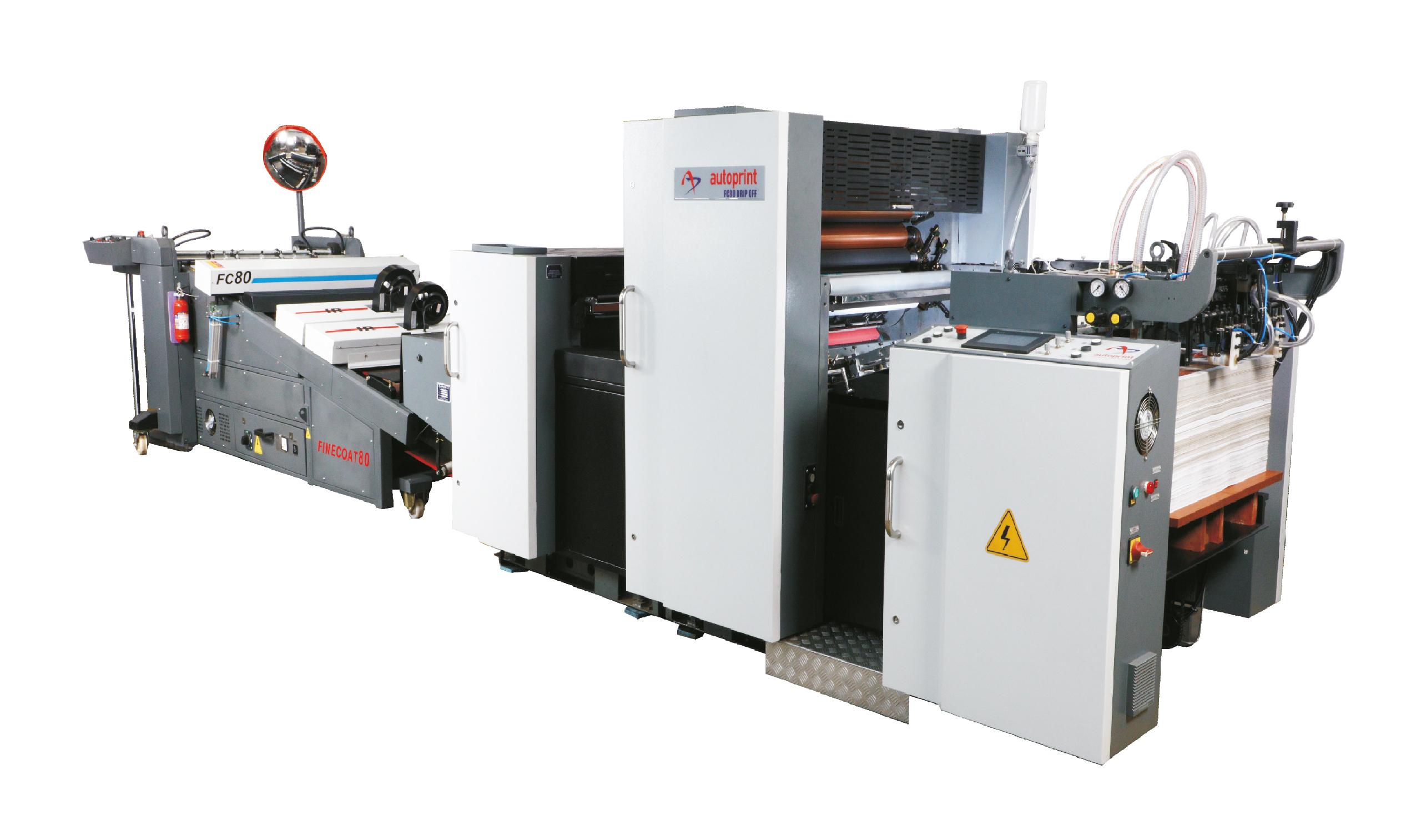 Нов модел двусекционна лакираща машина от Autoprint