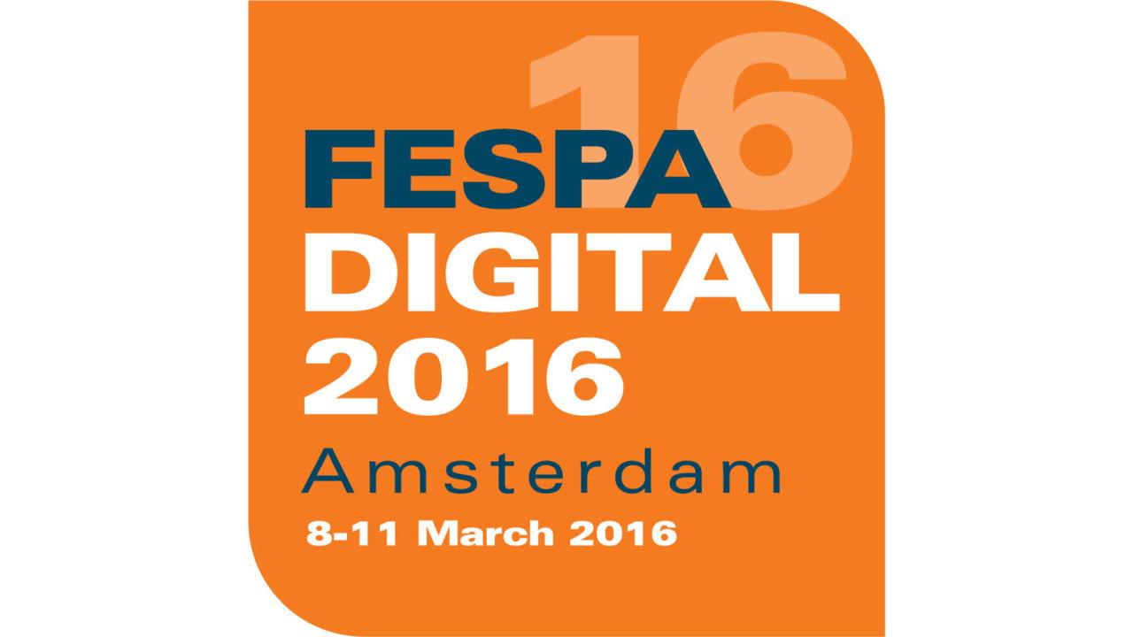 Тепеде на FESPA DIGITAL 2016