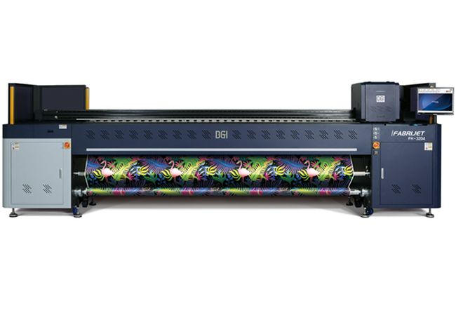 Арагорн представя  хибриден текстилен принтер DGI FH-3204