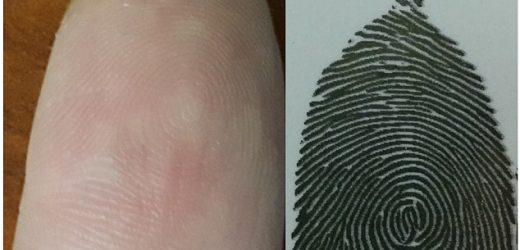Пръстовият отпечатък може да се фалшифицира с мастиленоструен принтер
