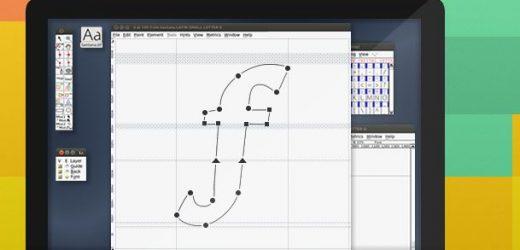 Безплатен софтуер за създаване и редактиране на шрифтове
