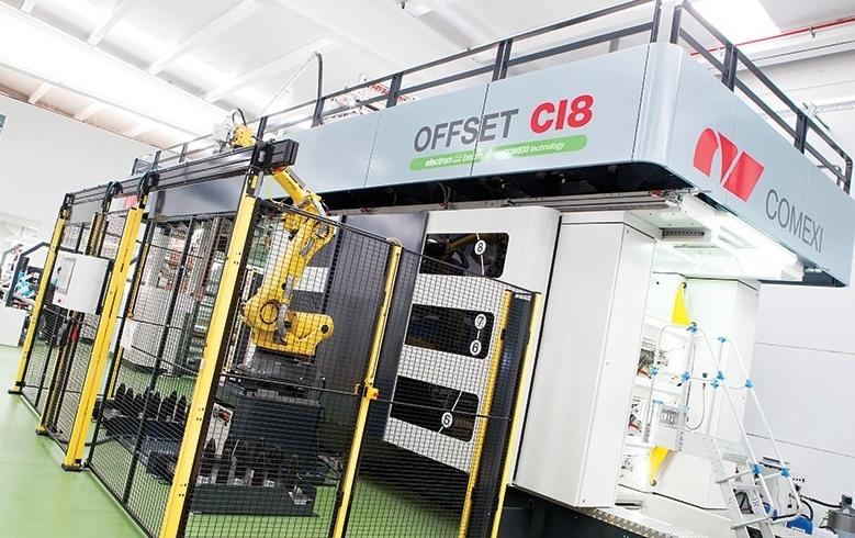Офсетовата технология на Comexi CI8 – нов хоризонт при производството на гъвкавите опаковки