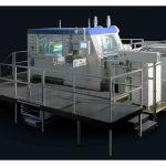 Машина за топъл печат и щанцоване на фирма Gietz