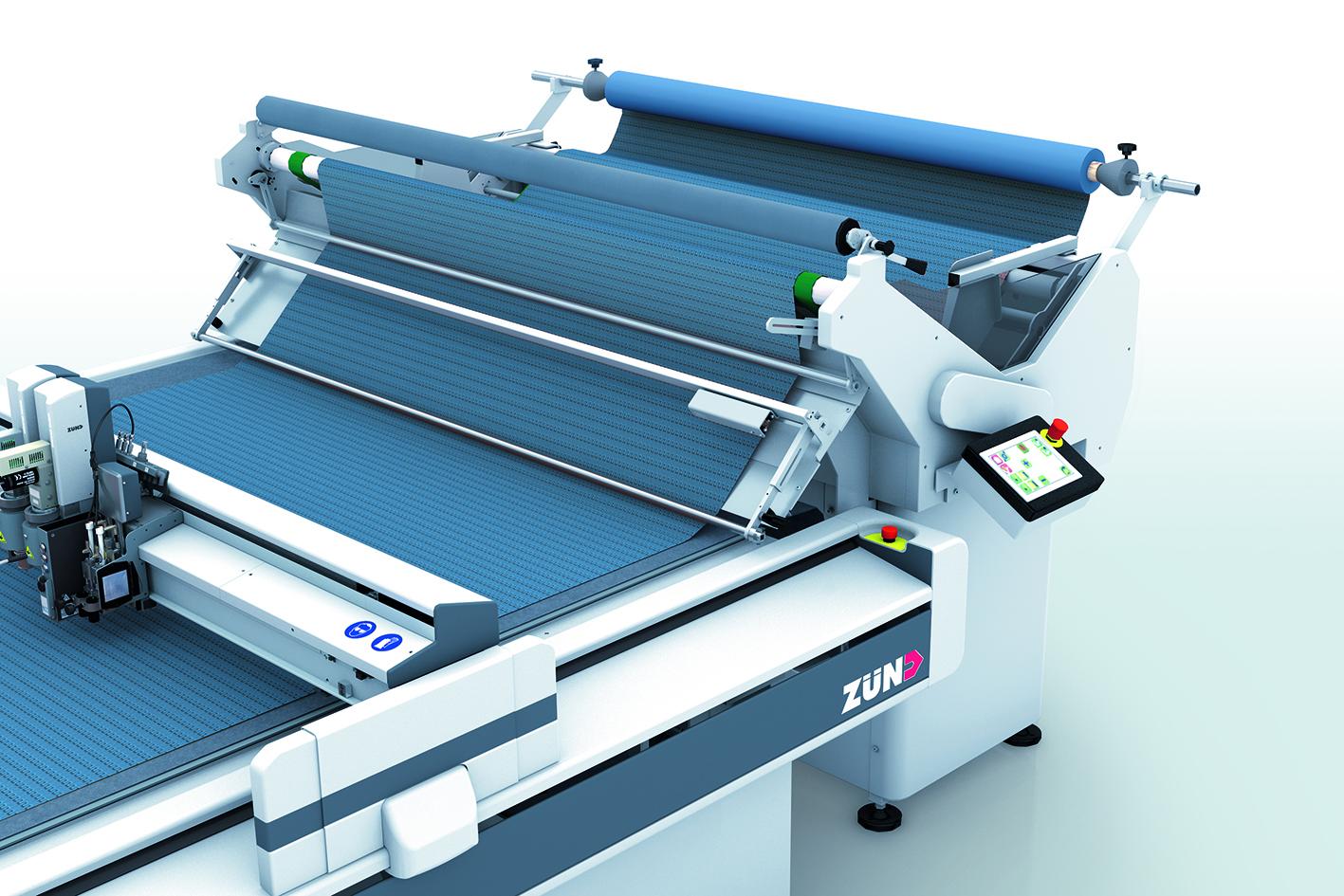 Подаване на текстилен материал без намачкване: Zünd въвежда Cradle Feeder - устройство за текстил