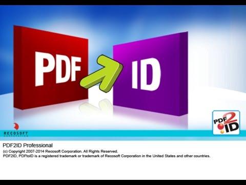 Recosoft представи версия 4.6 на конвертора PDF2ID
