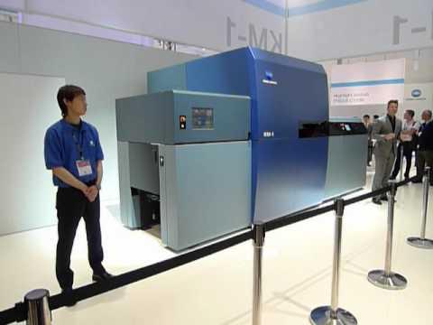 Konica Minolta подготвя представянето на мастиленоструйната KM-1
