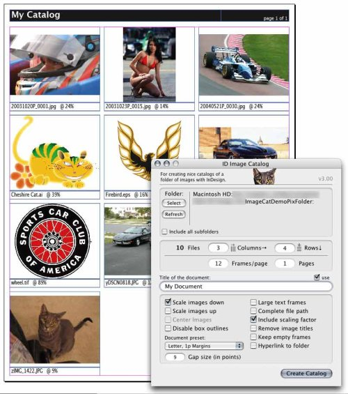 Image Catalog за InDesign
