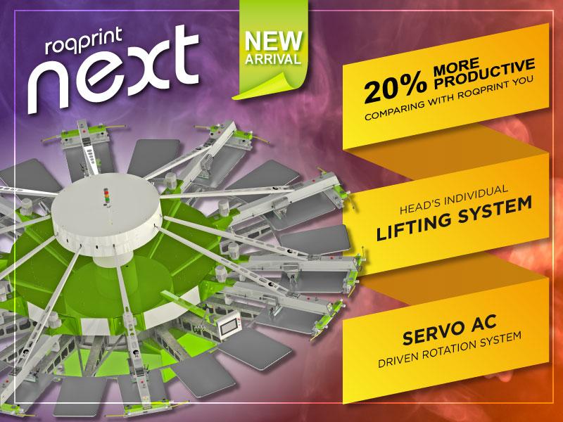 ROQprint NEXT ще бъде представена по време на Copis от Полихром Сервиз