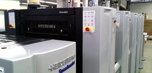 """Нови машини в печатна база """"Русе прес"""""""