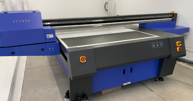 Три нови печатни машини в Кристал Винил