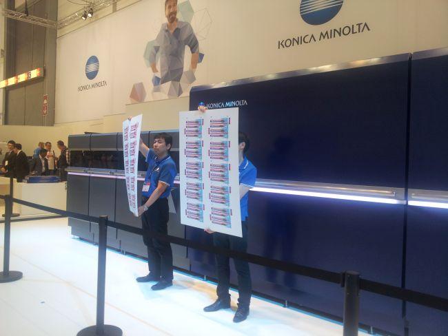 Konica Minolta показа KM-C на drupa 2016