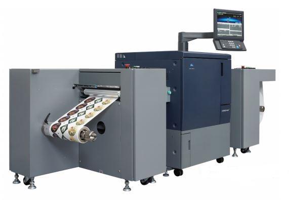 Коника Минолта навлиза на пазара за дигитален печат на етикети