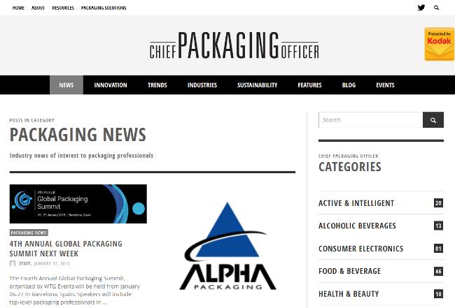 Информационен портал за производителите на опаковки