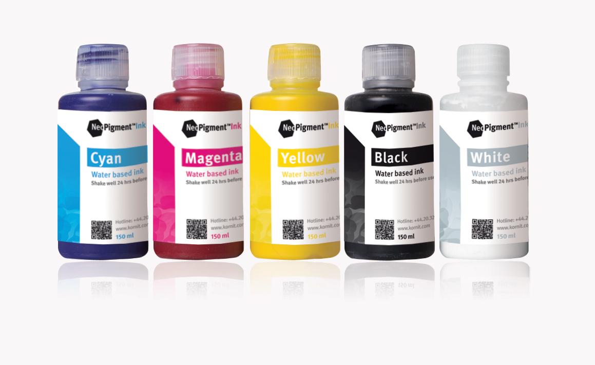 Kornit Digital представи новa серия мастила на Fespa 2015
