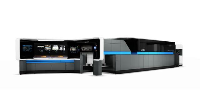 Landa ще покаже дигитална машина с формат В1 и скорост 13000 листа в час на Друпа