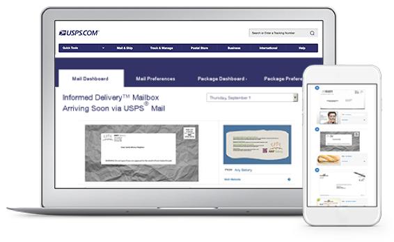 Американските пощи с безплатна услуга, известяваща потребителите за бъдещи писма