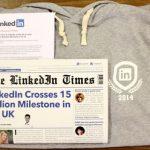 Linkedin отпечата персонализирани вестници за потребители от 50 таргет групи