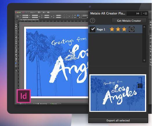 Metaio представи първият плъгин за добавена реалност в InDesign