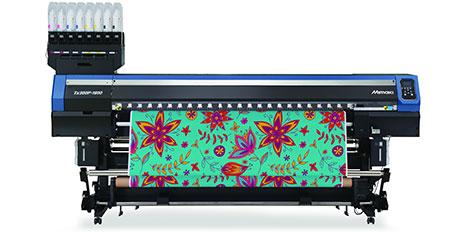 Нов модел на Mimaki за директен печат върху текстил