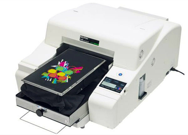 Принтер за директен печат върху текстил от Mutoh