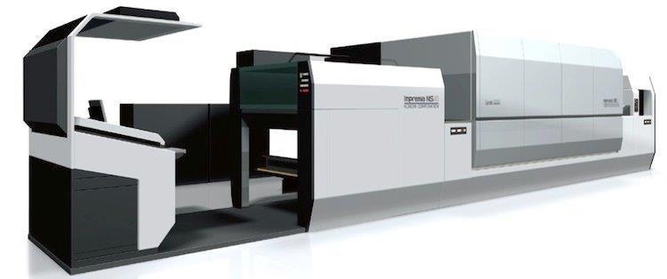 Komori продадоха дигитална машина с нанотехнология