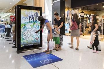 Следващо поколение екрани за външна реклама със сензори