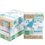 Компанията PaperWise представи хартия от хранителни отпадъци