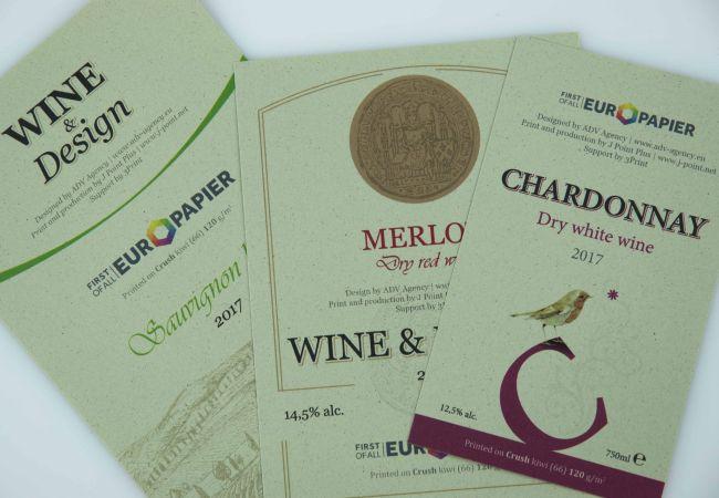 Нови серии хартии и ефектни опаковки и етикети от Европапир и Джей Пойнт Плюс