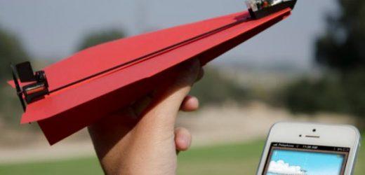 Хартиено самолетче с мотор за милион долара