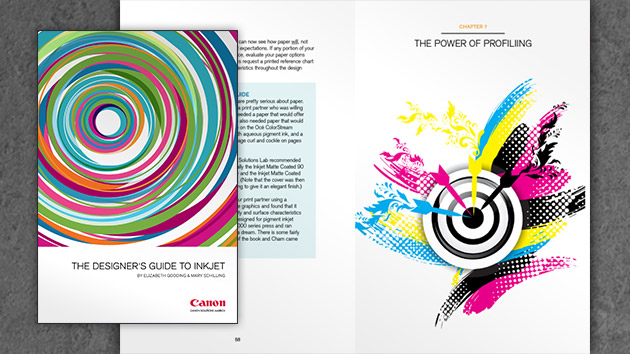 Canon превръща в своя основна цел обучението на дизайнери и печатници в областта на inkjet технологиите
