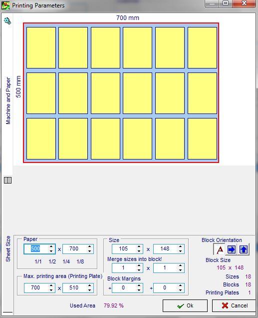 Безплатен софтуер за калкулации на запитвания за печат