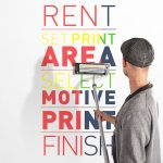 Иновативен ръчен принтер ще печата върху стени